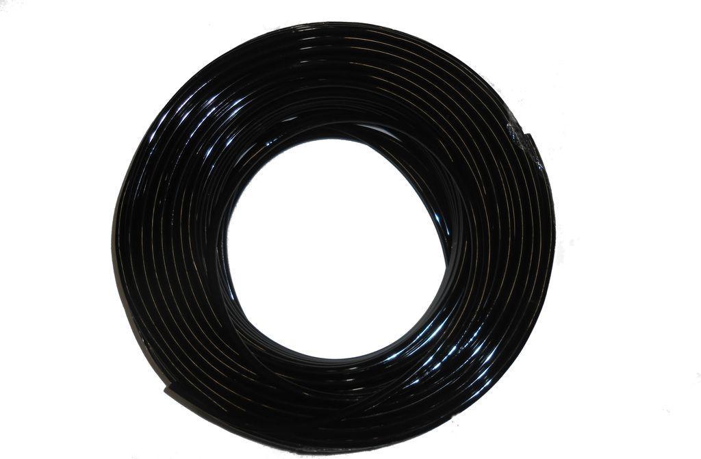 Трубка ПВХ 8 мм (чорна)