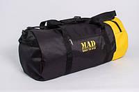 Спортивная сумкатубус Mad XXL 50L, черная