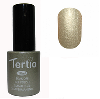 Гель-лак №008 (серо-золотистый перламутр) 10 мл Tertio