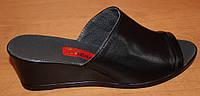 Женские сабо кожа на платформе, женская обувь лето от производителя модель СТЛ11П