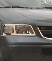 Накладки на фары Omsa на Volkswagen T5 2003-2010