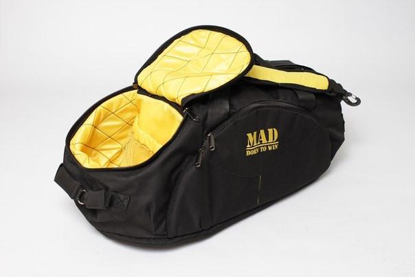01fc43dd Спортивная сумка-рюкзак Mad Infinity, черная - Экстрим Поинт в Бердянске