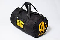 Спортивная сумка для бодибилдинга ANIMAL, черная
