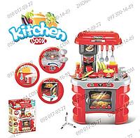 Кухня 008-908А, от Kitchen, 69*45,5*26,5 см, посуда, тостер, продукты, свет, звук, на батарейках, в коробке