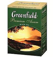 Чай  Greenfield Premium Assam листовой 100г.