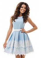 Вечернее выпускное  платье 2 нежных цвета