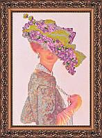 Набор для вышивки бисером на холсте «Элизабет»