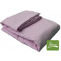 Комплект одеяло+подушка, 90*120см, шерсть, хлопок, розовый, в сумке 50*30см, ТМ Homefort