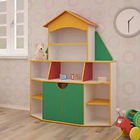 Детская стенка для игрушек «Книжный дом»