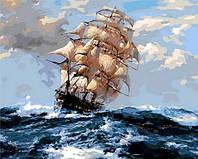 Картина-раскраска по номерам Mariposa На всех парусах Q-1069