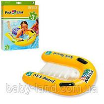 Дошка для плавання дитячий надувний Intex 58167