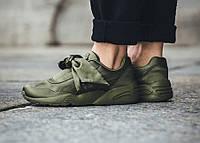 Женские кроссовки Puma х Rihanna Fenty Bow Sneaker Olive f23584d1c991d