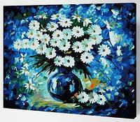 """Картина по номерам """"Ромашки"""", 40х50см (на разноцветном холсте)"""