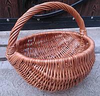 Корзина плетеная из лозы, фото 1