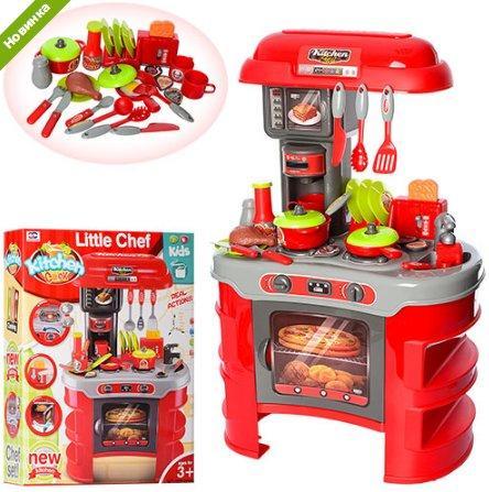 Детская кухня Little Chef 008-908A, красная
