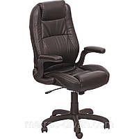 Кресло Мустанг HB кожзам чёрный ( CS-611E PU06 Black).