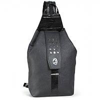 Рюкзак Dolly 358 черный городской формат А4 один отдел 22 см х 42 см х 12 см