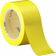 3М 471 Виниловая односторонняя лента, 0,13мм х 50мм х 33м, желтая