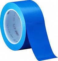 3М 471 Виниловая односторонняя лента, 0,13мм х 50мм х 33м, голубая