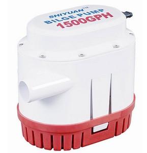 Помпа трюмная лодочная автоматическая 1500gph для откачки воды из лодки