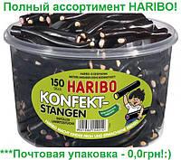 Желейные конфеты Лакричные Поленья Харибо Haribo 200гр.150шт.