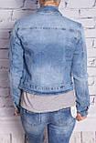 Женский джинсовый пиджак YES! Pink (код 611), фото 2