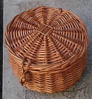 Шкатулка плетеная из лозы, фото 1