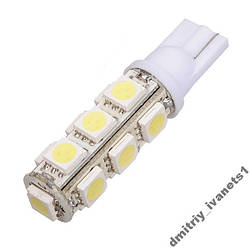 T10 13-SMD LED W5W лампочка автомобільна
