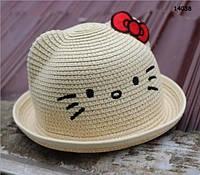 Шляпа Hello Kitty для девочки. 52 см, фото 1