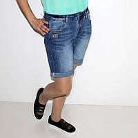 Шорты  джинсовые стрейчевые  для женщин Арт.1321  Разм.28-33