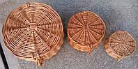 Набор шкатулок плетеных от производителя, фото 1
