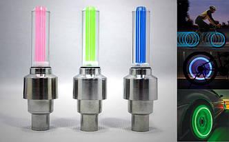LED подсветка колеса на ниппель