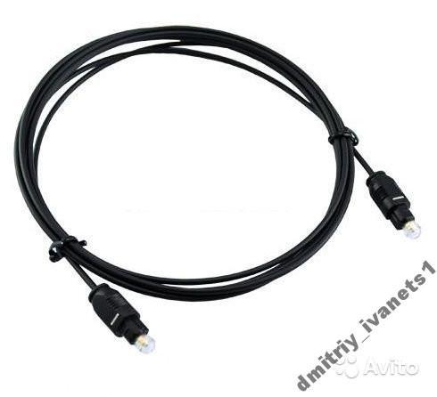 Аудиокабель аудио кабель оптический Toslink