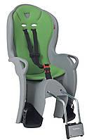 Детское велосипедное кресло Hamax Kiss Серо-зеленый