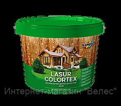Лазурь для древесины COLORTEX белая 10л