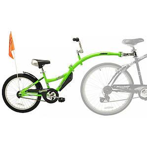 Прицеп для велосипеда Co-Pilot - Weeride - Нидерланды - От 4 до 10 лет, рост более 120 см, вес до 45 кг Салатовый