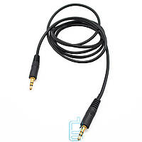 AUX кабель 3.5 mini jack 1.5m черный