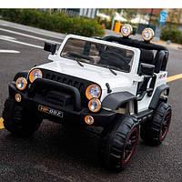 Детский электромобиль Джип BAMBI M 3469 EBLR-1 колеса Eva