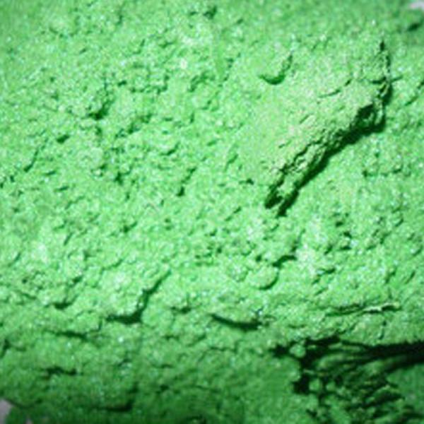 """Перламутровый пигмент """"Зеленое яблоко"""" для смол, полимерной глины, декора любого вида. 25 мл"""