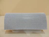 """Вечерний женский клатч с кольчужным плетением Светло-серый """" под серебро"""", фото 1"""