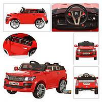 Детский электромобиль джип Красный M 2447 EBR-1 Range Rover BI