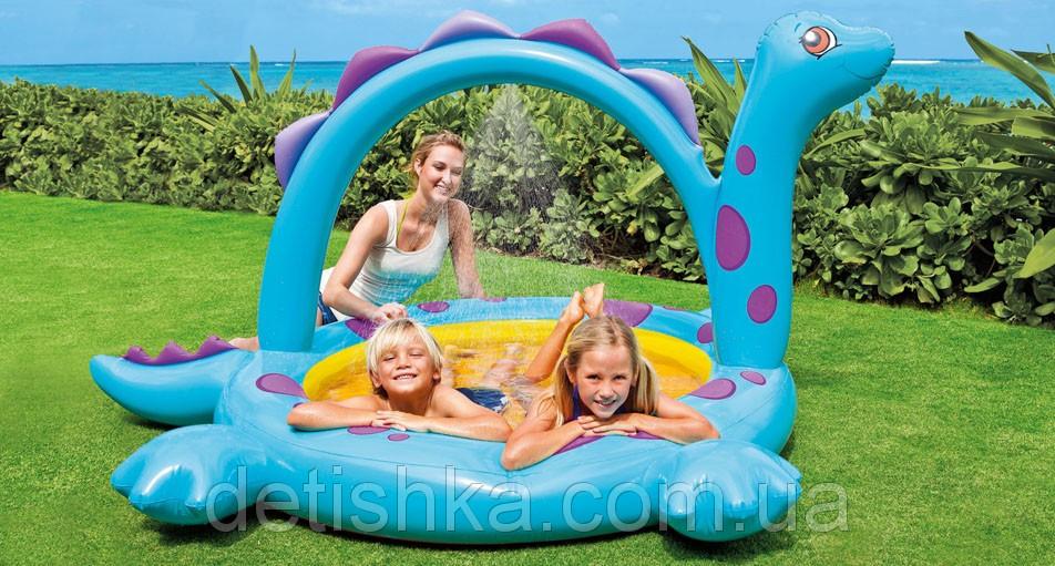 Детский бассейн с душем