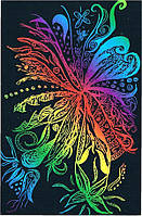 Граттажный лист Rainbow 26*18,5см
