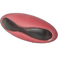 Колонка портативная Lesko BL mini-X6 красная Bluetooth музыка MP3 басс спикер динамик для телефона смартфона