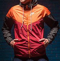 Виндраннер Nike SB / Windrunner Nike SB красный / оранжевый