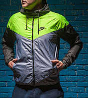 Виндраннер Nike SB / Windrunner Nike SB черный / зеленый / салатовый