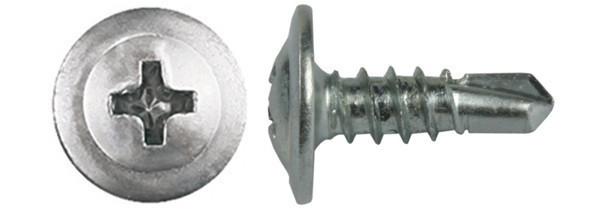 Саморез с пресс-шайбой (со сверлом) Ø4.2×16 мм. - ХозТовСнаб в Харькове