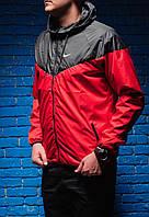 Виндраннер Nike / Windrunner Nike / черный / красный