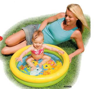 Маленький надувной бассейн intex, фото 2