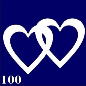 Трафарет для временного тату №100
